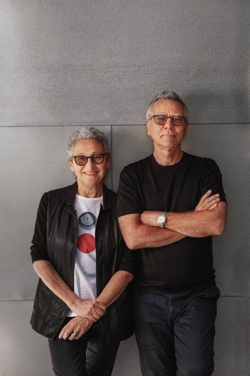 Julie Eizenberg and Hank Koning. Photo: Matthew Momberger.