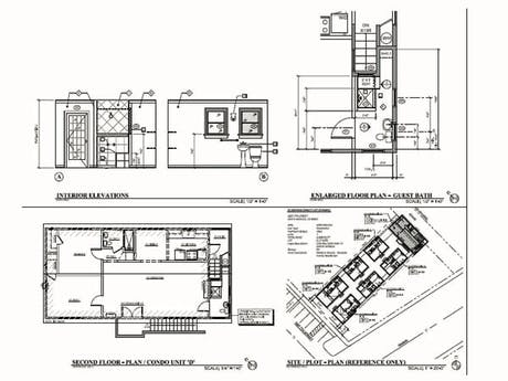 Westwood, Los Angeles - Condo, Kitchen Remodel, Plans