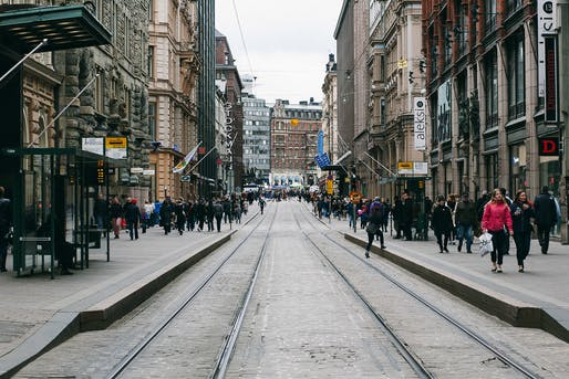 "Streets of Helsinki, Finland's Capital (2015). Image © Benjamin Horn, via <a href=""https://flic.kr/p/scK2mH"">Flickr</a>"