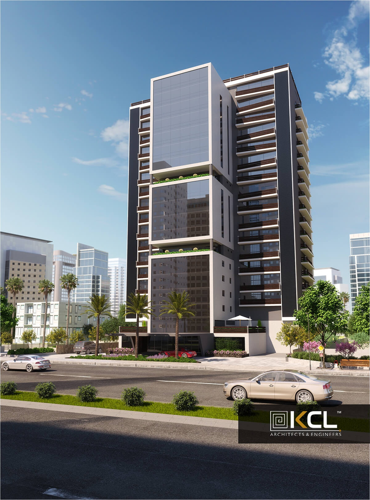 Attractive Commercial Architectural Building Design