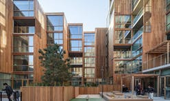 "BIG's 79&Park ""wooden hillside"" residential building inaugurated in Stockholm"