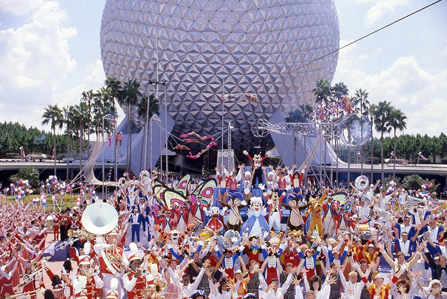Epcot's Daredevil Circus Spectacular, at Walt Disney World Resort