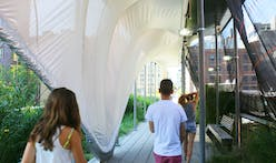 Zaha Hadid designs sculptural safety canopy over the High Line