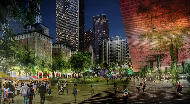 Pershing Square Renew finalist proposal: Agence TER and Team