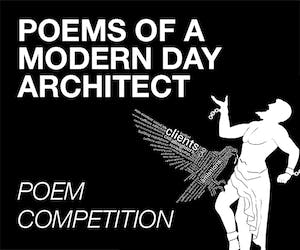 Poem competition 'Poems of a Modern Day Architect'