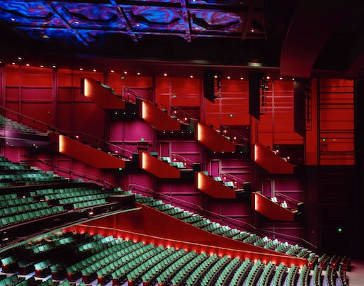 Marion Oliver McCaw Hall, located in Seattle, by LMN Architects. Image: LMN Architects.