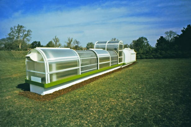 The Growth Accelerator 1987. Designed and built for the Missouri Botanical Gardens in St. Louis.