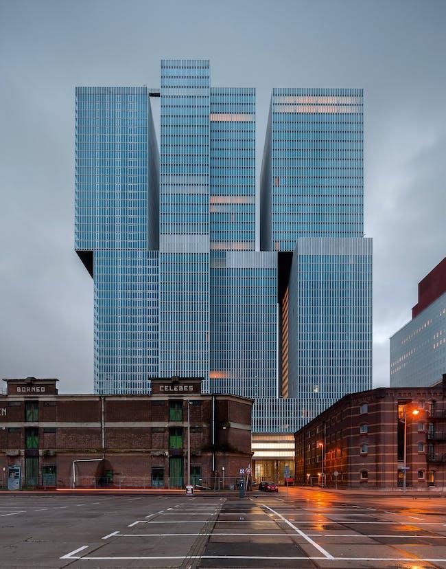 De Rotterdam Building, 1997-2013, Rotterdam (Netherlands)© Ossip van Duivenbode
