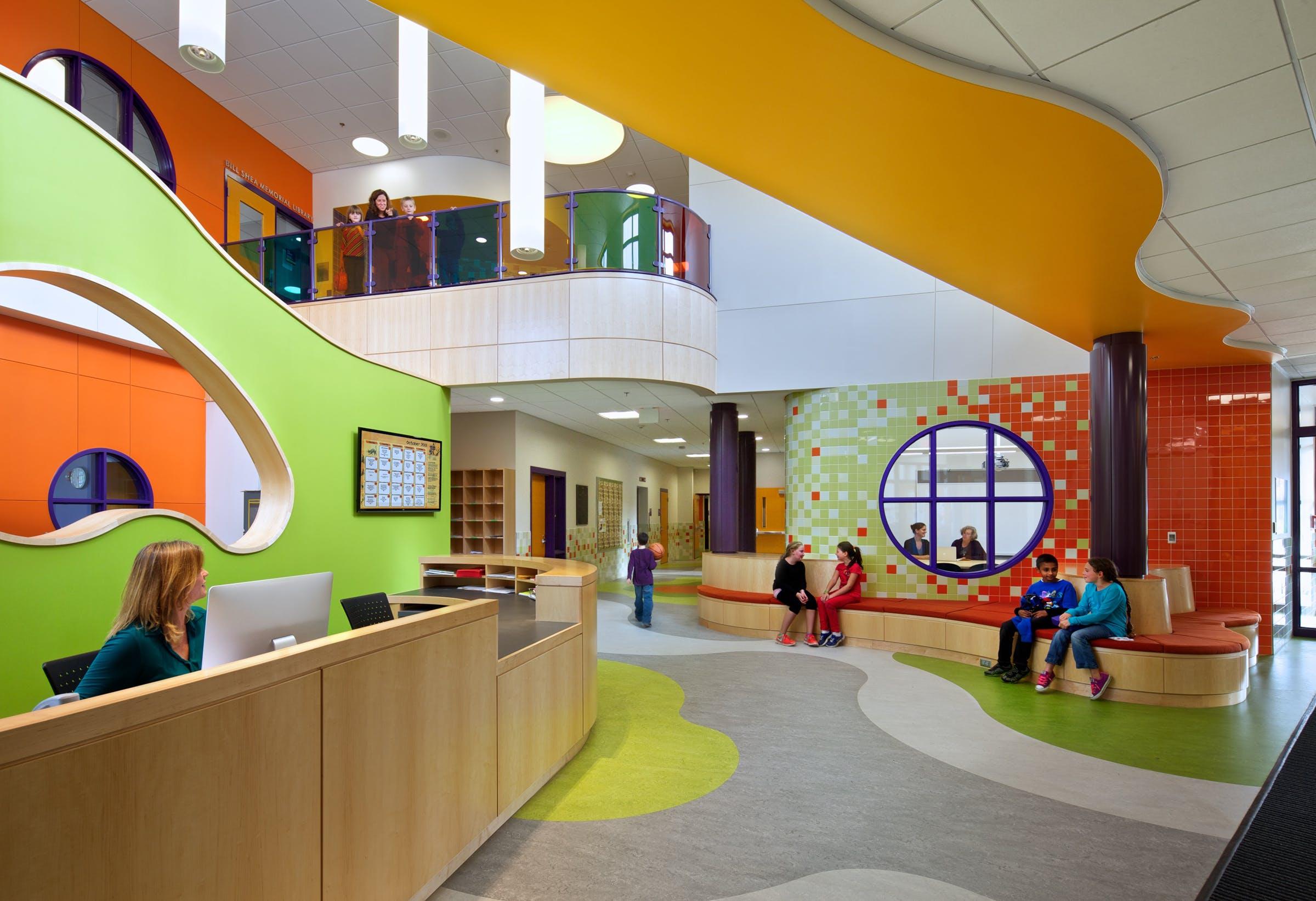 Thompson Elementary School Hmfh Architects Inc Archinect