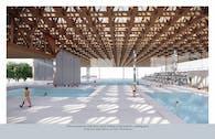 A sports facility