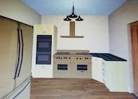 Residental Luxury 4 Bedroom Plan Layout perspective kitchen