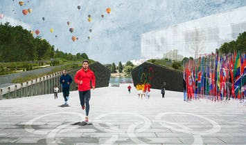 Dominique Perrault reveals plans for the Paris 2024 Olympic Village