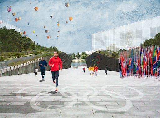 © Paris 2024 Luxigon Dominique Perrault Architecte