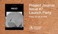 Archinect Outpost to host launch party for Project Journal October 26th