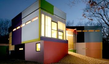 Arakawa and Madeline Gins' avant-garde, Life-Span Extending Villa hits the market at $2.5 million