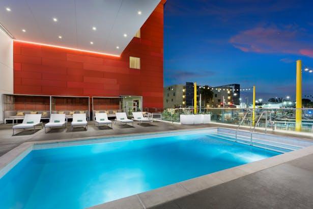 Pool Deck of Marriott