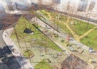 Touching the Green: An Award Winning Urban Design Project