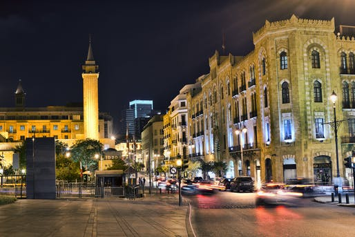 Downtown Beirut. Image: Ahmad Moussaoui via Flickr