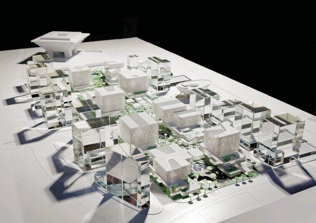 Model photo (Image: schmidt hammer lassen architects)