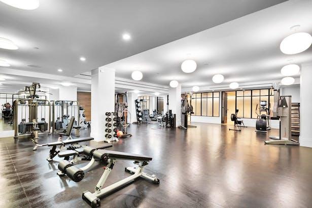 The underground Fitness Center