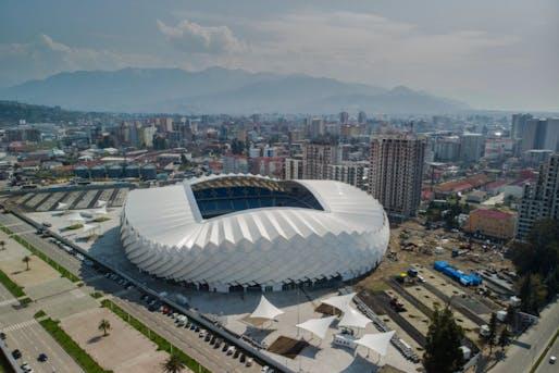 Batumi Stadium. Photo: Government of Autonomous Republic of Adjara