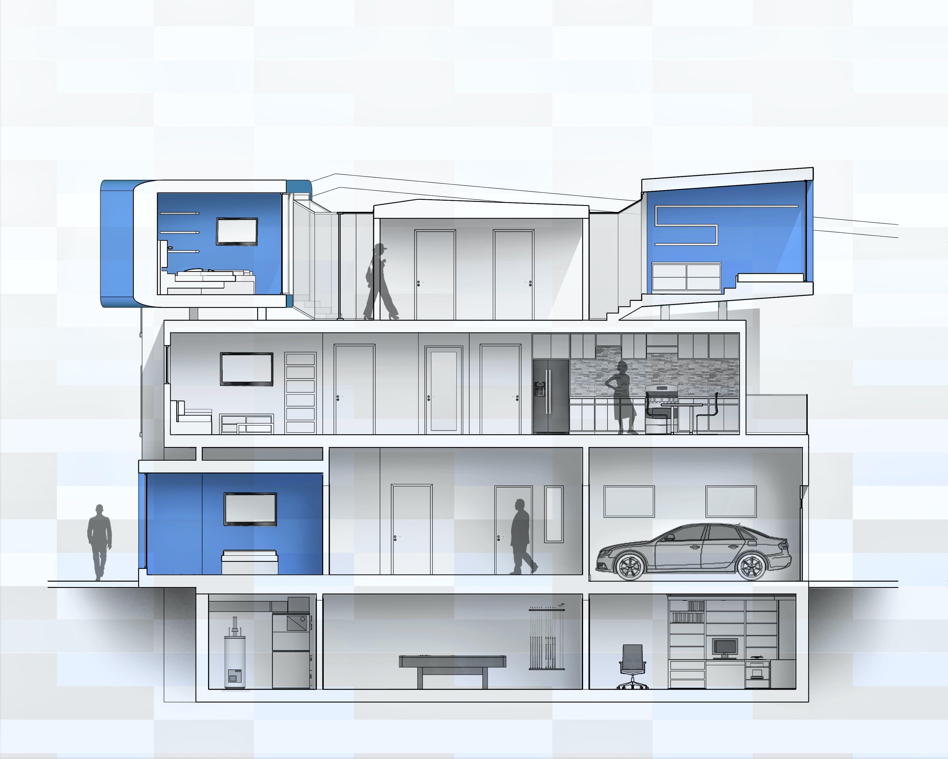 Row Home | Nikos Nasis | Archinect