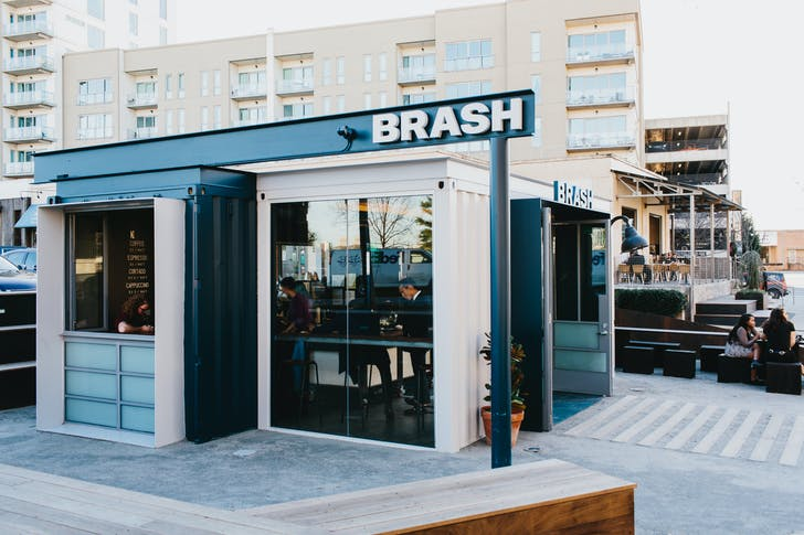 Brash Coffee in Atlanta, GA.