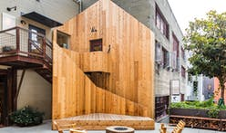 "SHED's ""Ghost Cabin"" honors a historic Seattle site with a playful mystery"