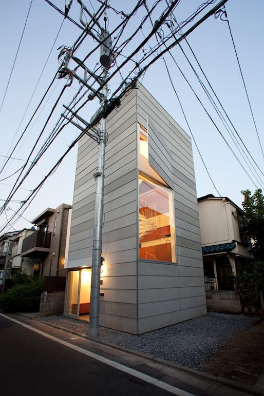 small house by unemori architects news archinect
