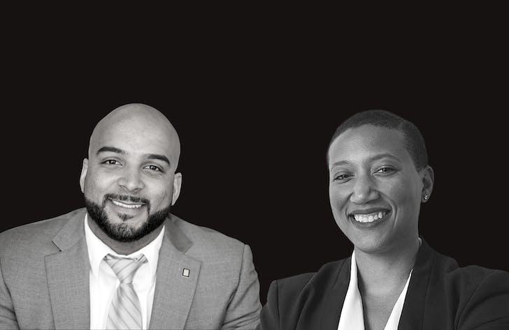 Jason Pugh and Kimberly Dowdell. Image courtesy of NOMA