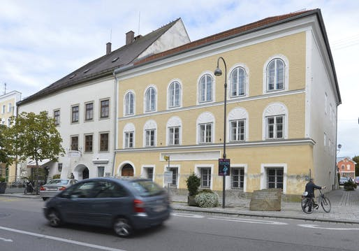 Adolf Hitler's birth house in Braunau am Inn, Austria. Kerstin Joensson/AP