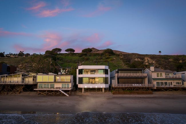 View of home from the Pacific Ocean. Images courtesy of Matthew Momberger.