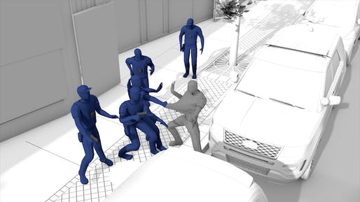 View of The Killing of Harith Augustus. Courtesy Forensic Architecture.