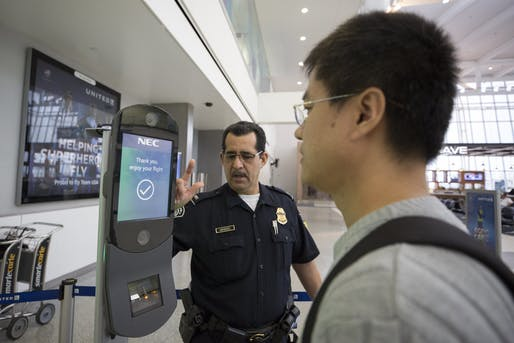 Facial recognition software will make its big Olympics debut in the 2020 Tokyo games. Image courtesy of the United States Customs and Border Patrol.