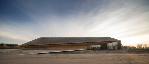 The new Wadden Sea Centre designed by Dorte Mandrup Arkitekter. Photo © Adam Mørk