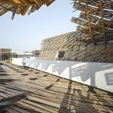 An exterior image of the China Pavilion for Expo Milano 2015. Photo by Sergio Grazia.