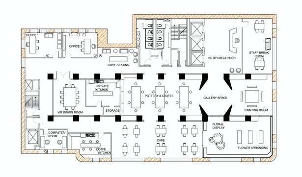 Senior Center Floor Plan