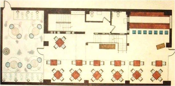 Floor plan, ground level