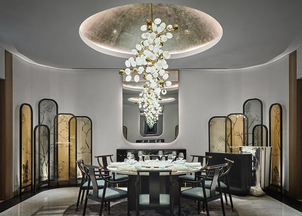 Private Dining Room at Yi restaurant, Photo by Owen Ragget