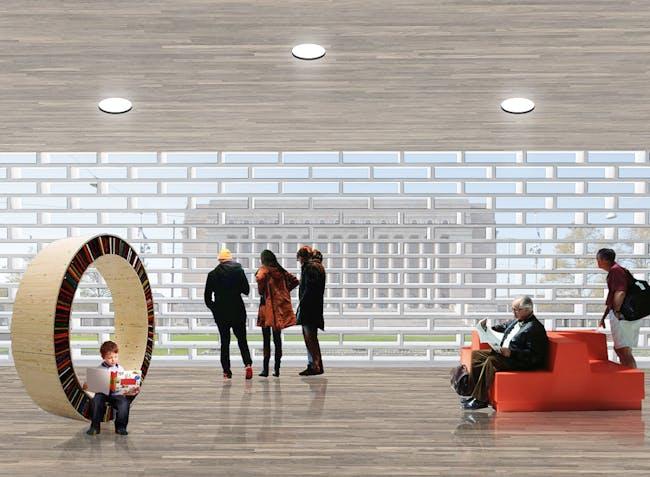 Interior rendering (Image: OYO + office9 + Ingenium)