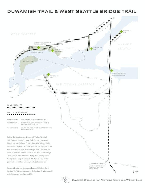 Duwamish Crossings: Longhouse-West Seattle Bridge Urban Hike (Wittman Estes)