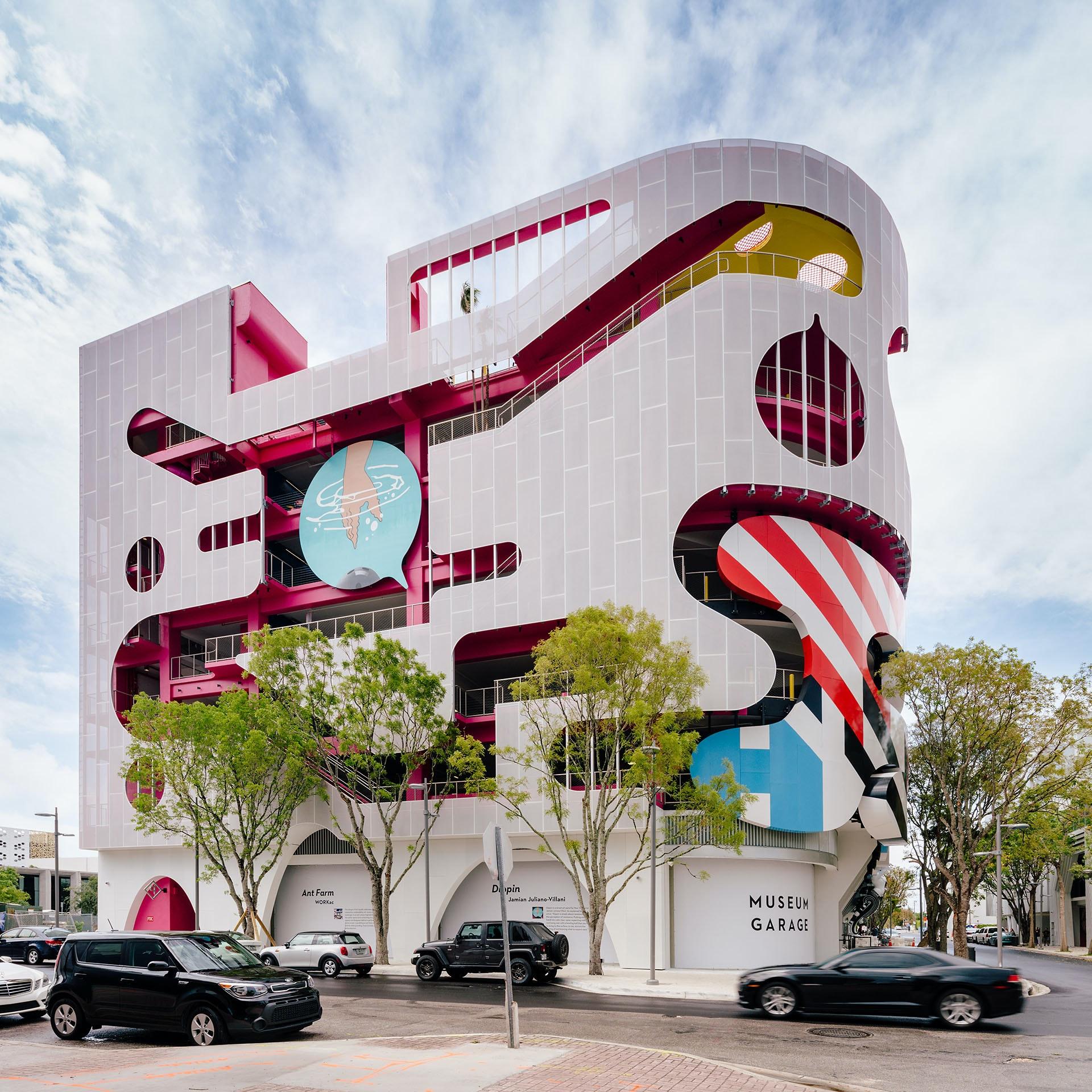 Miami Collage Garage by WORKac