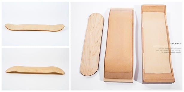 Skateboard Deck: Half Scale
