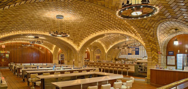 The Oyster Bar at Grand Central. Photo © Michael Freeman. Courtesy of the Museum of the City of New York