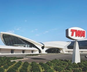 The National Arts Club Examines Saarinen's Flight Center for TWA