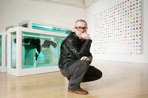 Hirst will show works from his personal Murderme collection. (The Art Newspaper)