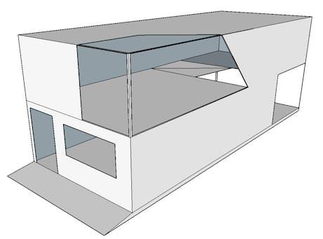 Modular eco-housing for greener landscape.