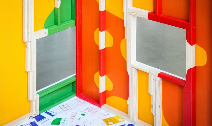 'False Walls' by 2019-2020 Innovation in Design Fellow Michael Jefferson