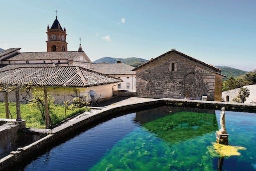 The Certosa di Trisulti monastery in Collepardo. Image © Alberto Pizzoli/AFP via Getty Images