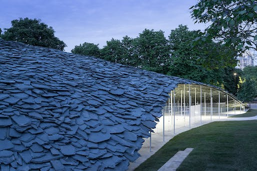 Serpentine Pavilion 2019, designed by Junya Ishigami, Serpentine Gallery, London (June 21 – October 6, 2019), © Junya Ishigami + Associates, Photography © 2019 Iwan Baan